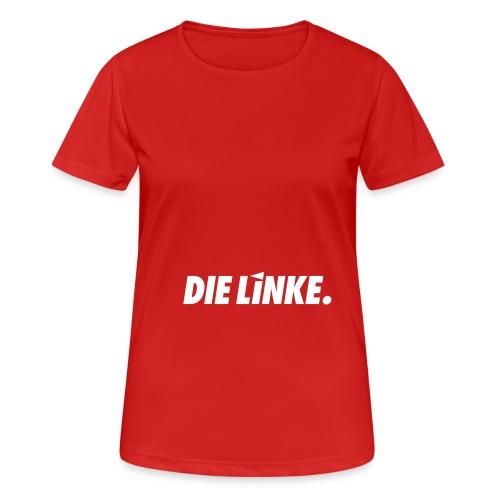 LINKE. Logo_S/W - Frauen T-Shirt atmungsaktiv