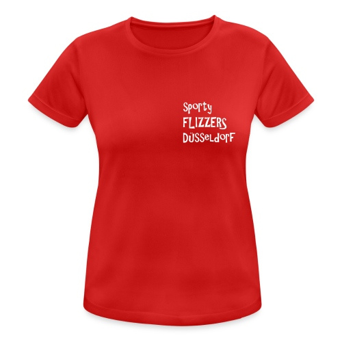 sfd_flizzer_ohne_fb_einfa - Frauen T-Shirt atmungsaktiv
