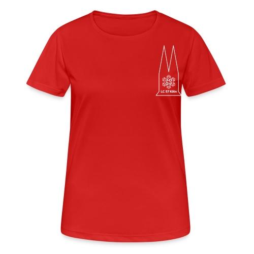 ladies circle logo 04 - Frauen T-Shirt atmungsaktiv