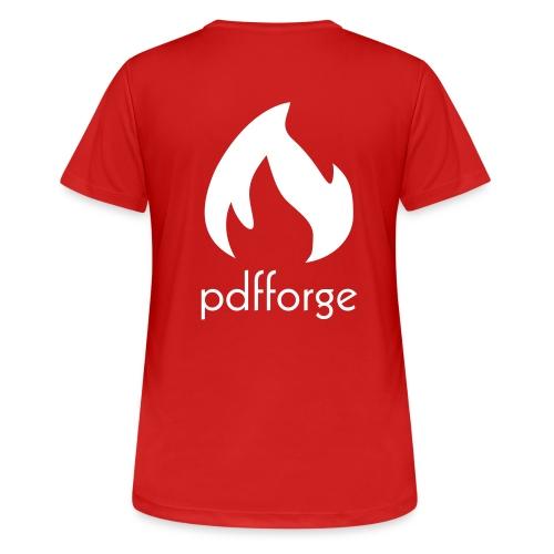 pdfforge logo - Frauen T-Shirt atmungsaktiv