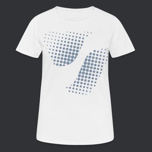 SPIKE Dots - Frauen T-Shirt atmungsaktiv