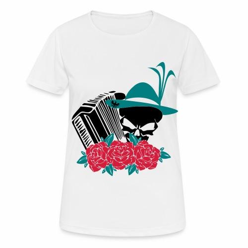 Rock Harmonika - Frauen T-Shirt atmungsaktiv