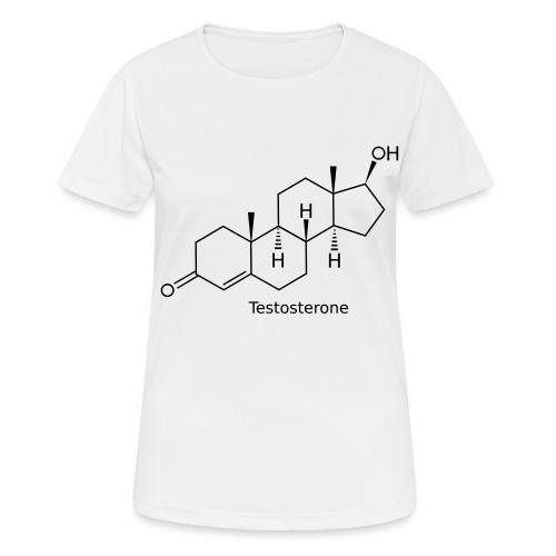 Testosterone - Bodybuilding, Crossfit, Fitness - Frauen T-Shirt atmungsaktiv