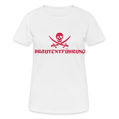 Brautentführung Piratenflagge Junggesellinnen - Frauen T-Shirt atmungsaktiv