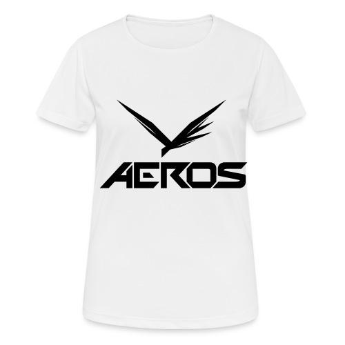 Aeros LOGO 2016 final - vrouwen T-shirt ademend