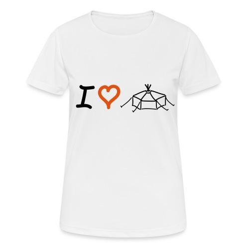 IloveJurte - Frauen T-Shirt atmungsaktiv