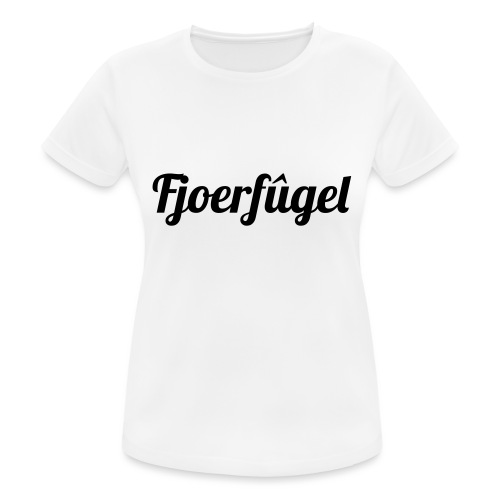 fjoerfugel - Vrouwen T-shirt ademend actief