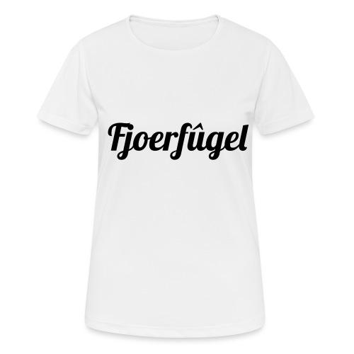 fjoerfugel - vrouwen T-shirt ademend