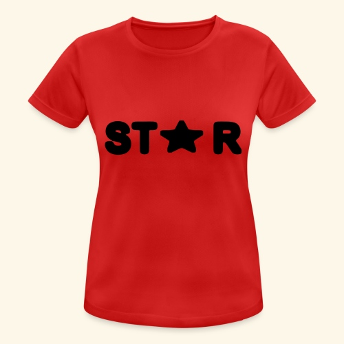 Star of Stars - Women's Breathable T-Shirt