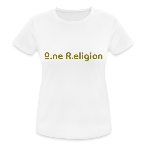 O.ne R.eligion Only - T-shirt respirant Femme