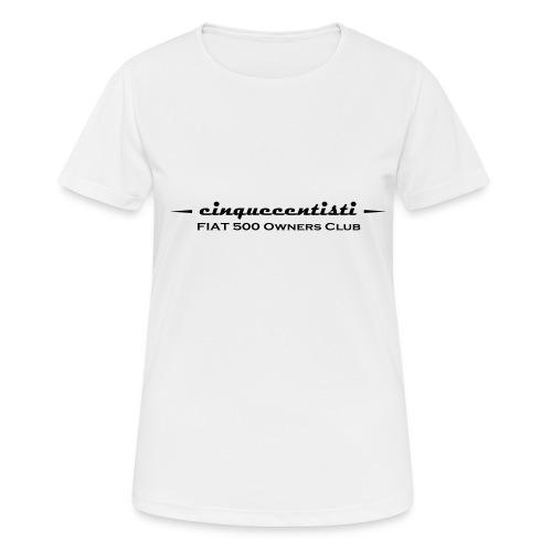 Cinquecentisti 500 Owners Club Vector - Maglietta da donna traspirante