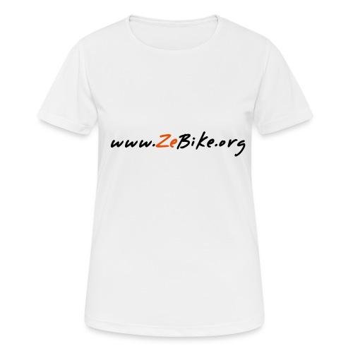 wwwzebikeorg s - T-shirt respirant Femme