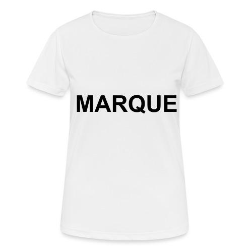 MARQUE - T-shirt respirant Femme