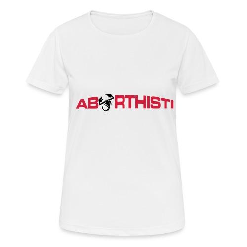 abarthisti no url - Pustende T-skjorte for kvinner