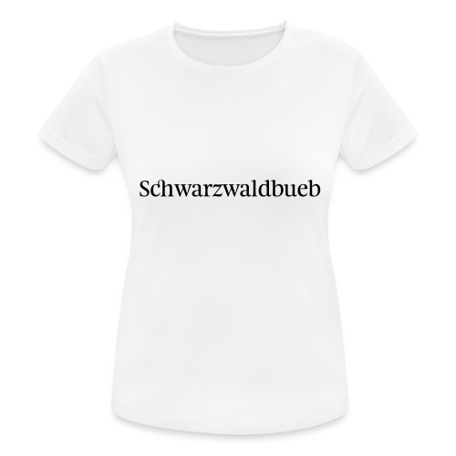 Schwarwaödbueb - T-Shirt - Frauen T-Shirt atmungsaktiv