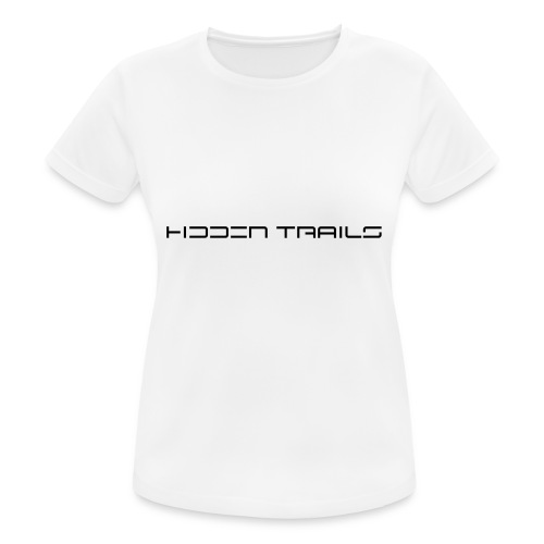 hidden trails - Frauen T-Shirt atmungsaktiv