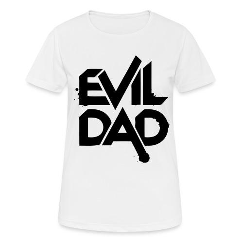 Evildad - Vrouwen T-shirt ademend actief