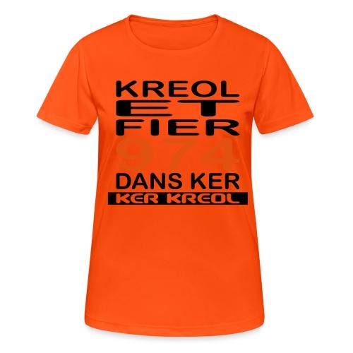 Kreol et Fier - 974 ker kreol - T-shirt respirant Femme