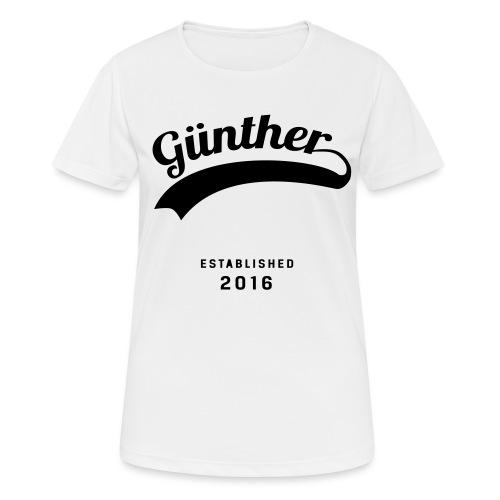Günther Original - Frauen T-Shirt atmungsaktiv