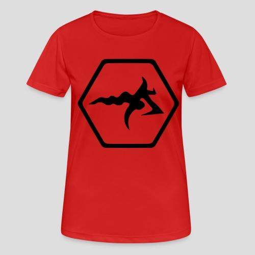 AmericanBilly - Maglietta da donna traspirante