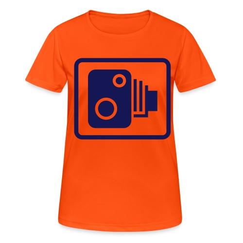 camera03 - Frauen T-Shirt atmungsaktiv