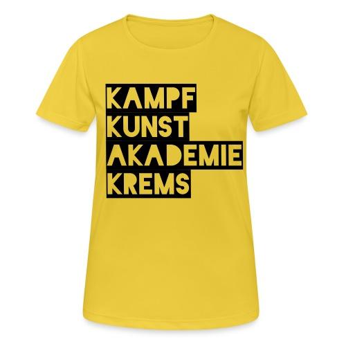 KKA 2016 lifestyle back2 - Frauen T-Shirt atmungsaktiv