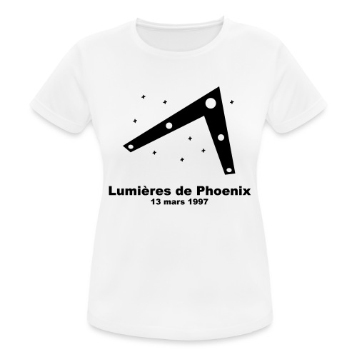 OVNI Lumieres de Phoenix - T-shirt respirant Femme