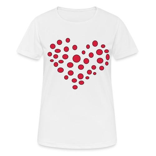 Polka - Dame T-shirt svedtransporterende
