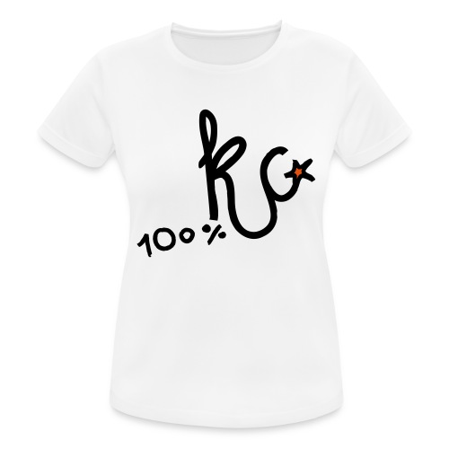 100%KC - vrouwen T-shirt ademend