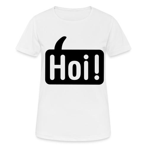 hoi front - Vrouwen T-shirt ademend actief