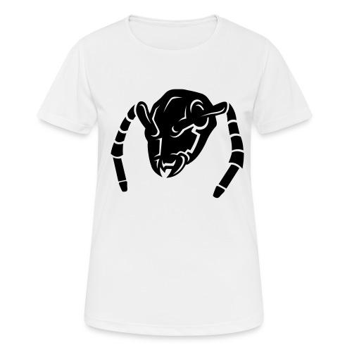 logostecker aermel - Frauen T-Shirt atmungsaktiv