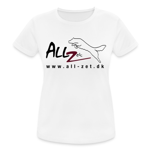 All Zet Logo - Dame T-shirt svedtransporterende