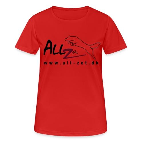 All Zet Logo - Dame T-shirt svedtransporterende