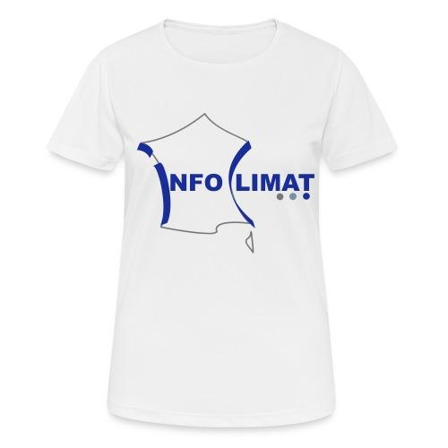 logo simplifié - T-shirt respirant Femme