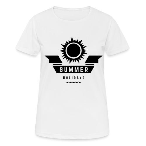 Summer holidays - naisten tekninen t-paita