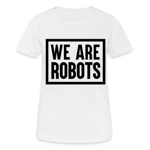 We Are Robots Premium Tote Bag - Women's Breathable T-Shirt
