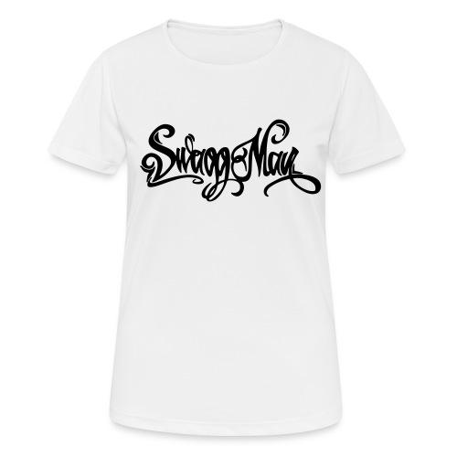 Swagg Man logo - T-shirt respirant Femme