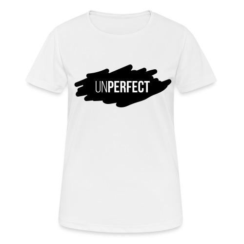 UNPERFECT LOGO 2 - Frauen T-Shirt atmungsaktiv
