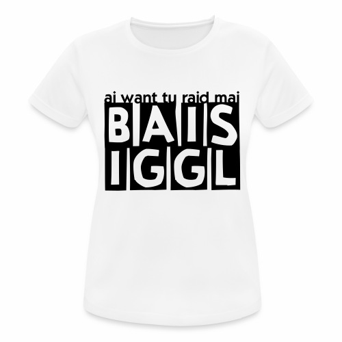 BAISIGGL square - Frauen T-Shirt atmungsaktiv