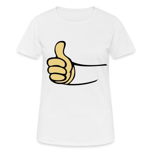 Vault - vrouwen T-shirt ademend