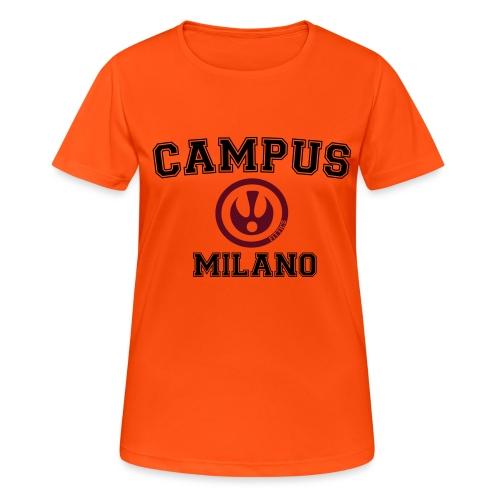 FITTICS MILAN CAMPUS - Women's Breathable T-Shirt