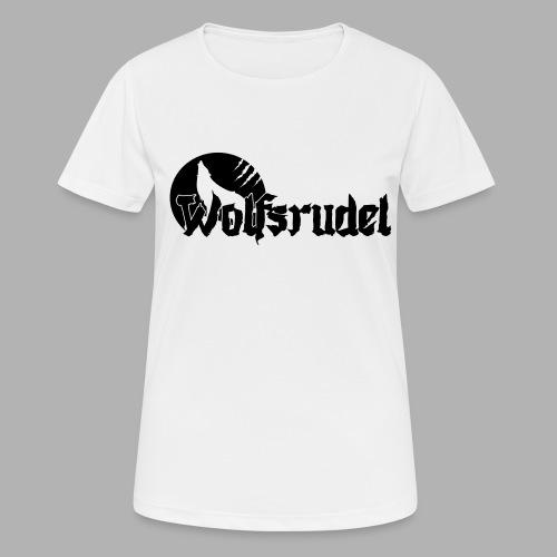 Logo Wolfsrudel EPS - Frauen T-Shirt atmungsaktiv
