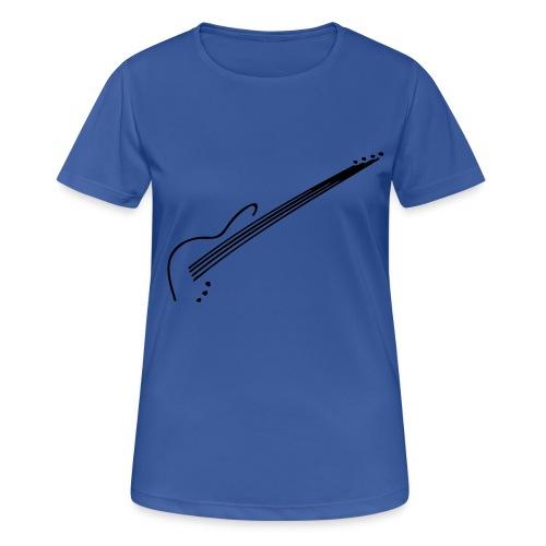 E-Bass - Frauen T-Shirt atmungsaktiv