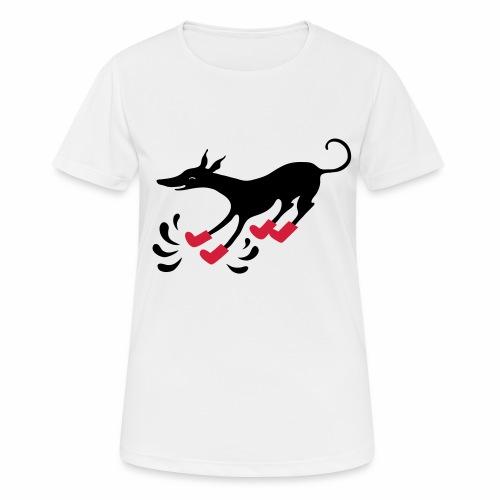 Latakko Loiskis - naisten tekninen t-paita