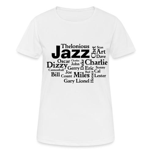 Jazz Greats - Frauen T-Shirt atmungsaktiv