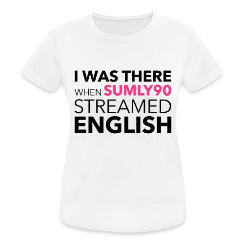 Sumly English - Women's Breathable T-Shirt