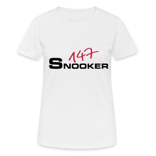 147_snooker - Frauen T-Shirt atmungsaktiv