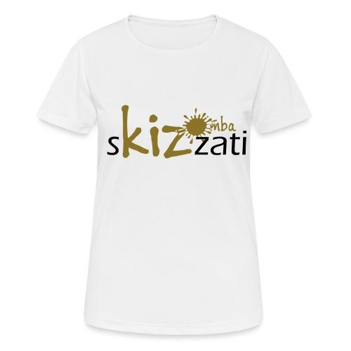 Beanie in jersey con logo sKizzati Kizomba - Verde - Maglietta da donna traspirante