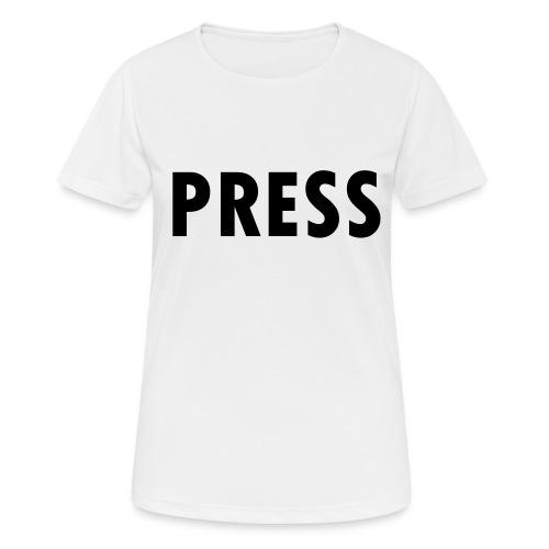 press - Frauen T-Shirt atmungsaktiv
