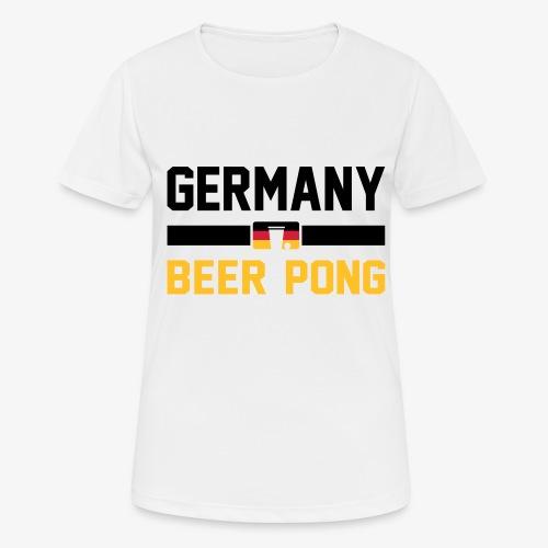 Germany Beer Pong - Frauen T-Shirt atmungsaktiv